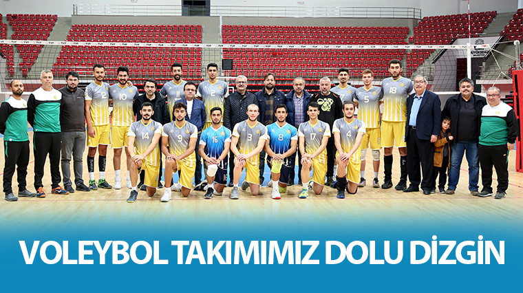 Konya büyükşehir Voleybol Takımı Dolu Dizgin