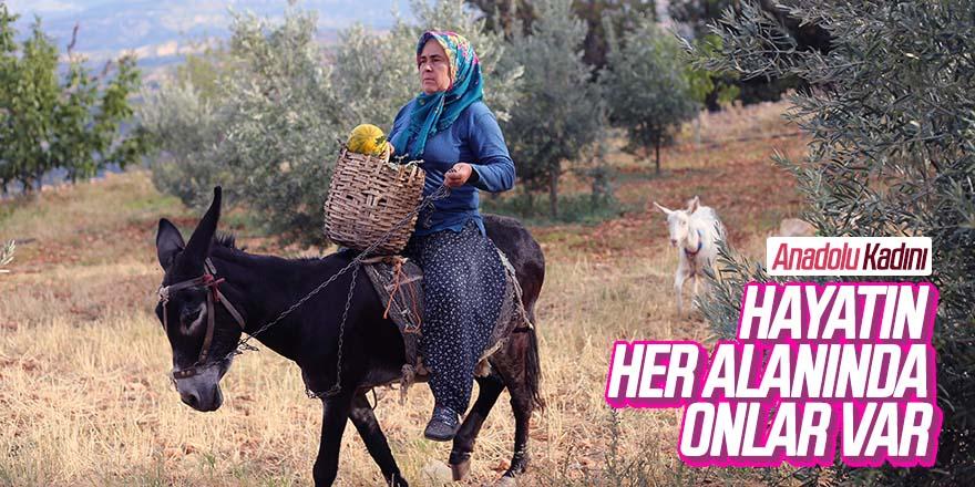 Elleri Nasırlı Anadolu Kadını Ekmeğinin Mücadelesini Veriyor