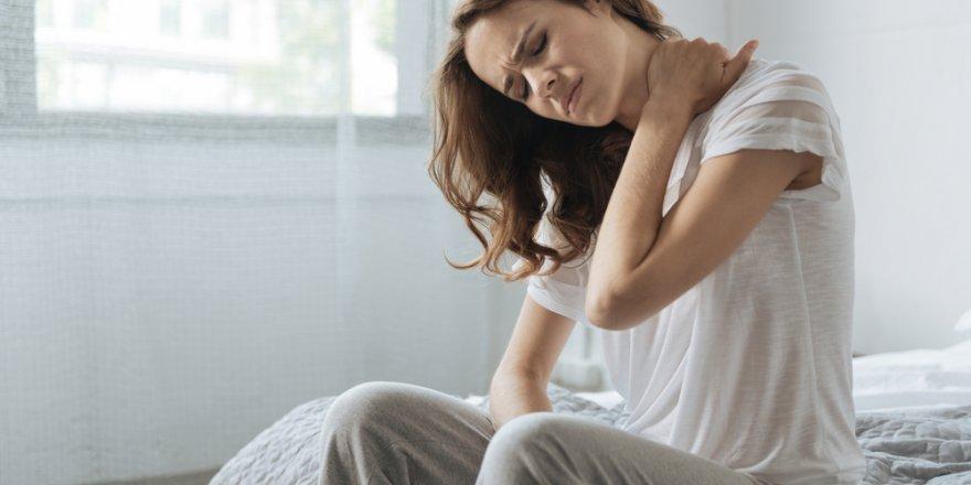 Her sabah boyun ağrısıyla kalkıyorsanız!Dikkat..