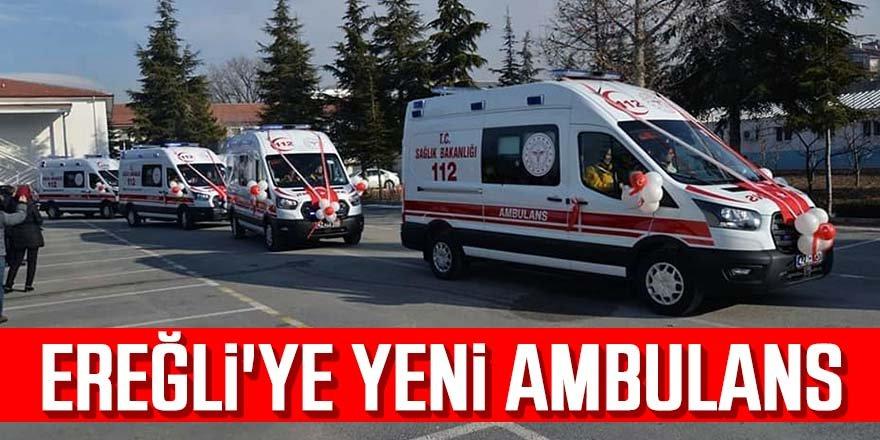 Ereğli'ye yeni ambulans