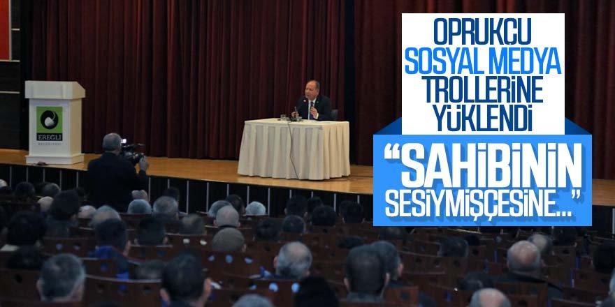 Başkan Oprukçu'dan 'onlara' net mesajlar