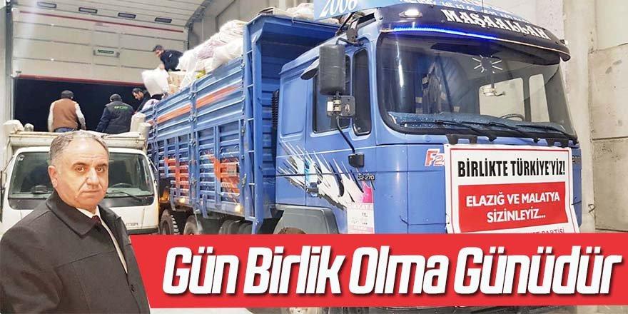 MHP Konya'dan Elazığ'a destek