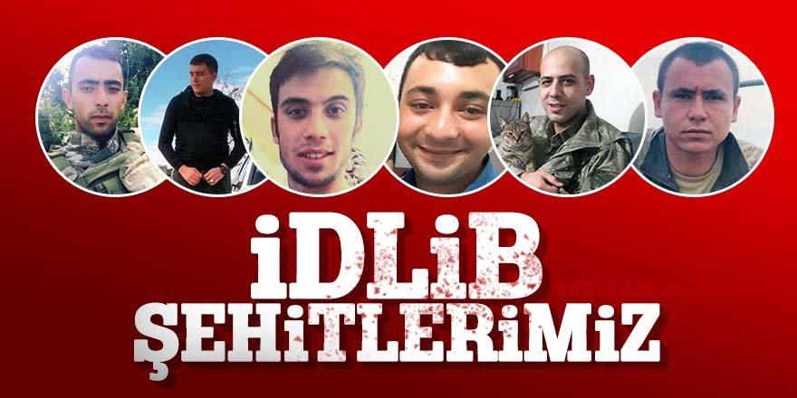 İdlib'de şehit düşen kahramanların kimlikleri belli oldu