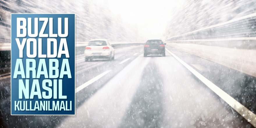 Karlı ve Buzlu Yolda Araba Nasıl Kullanılmalı