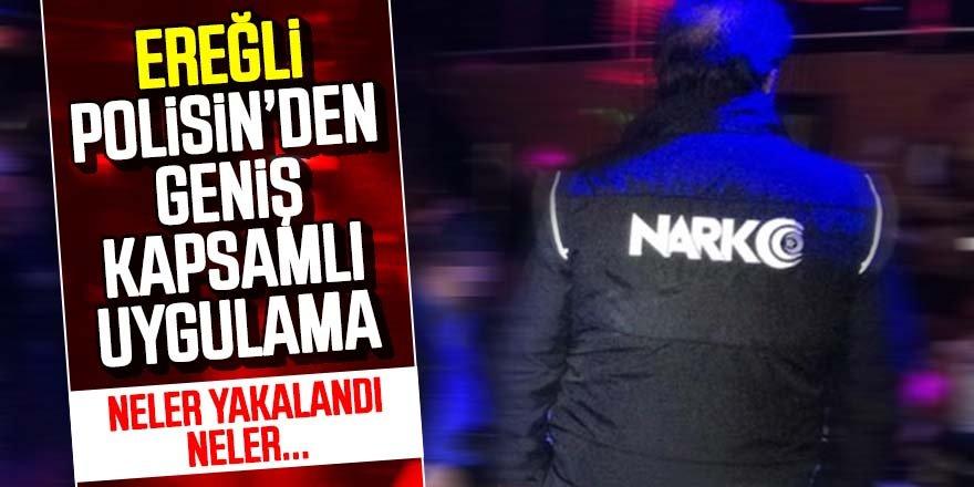 NARKOTİK POLİSİNDEN UYUŞTURUCUYA DARBE