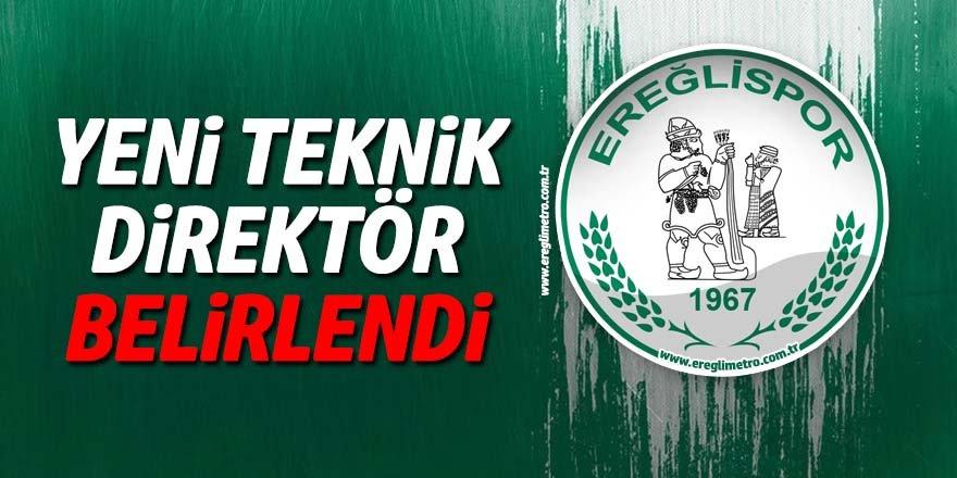 Ereğlispor'un yeni teknik direktörü MEHMET ATAY oldu
