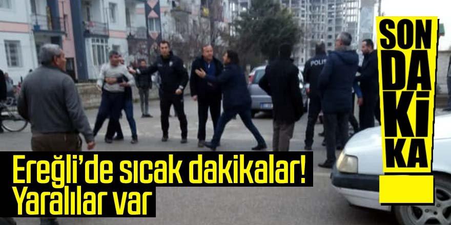Ereğli'de miras kavgasında 2 kişi hastanelik oldu