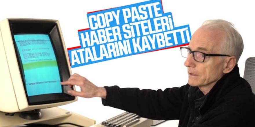 Copy paste'in mucidi yaşamını yitirdi