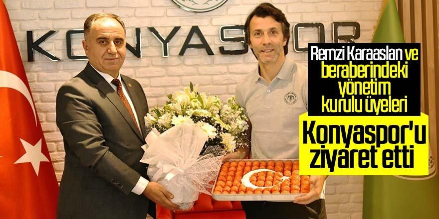 MHP'den Konyaspor'a ziyaret