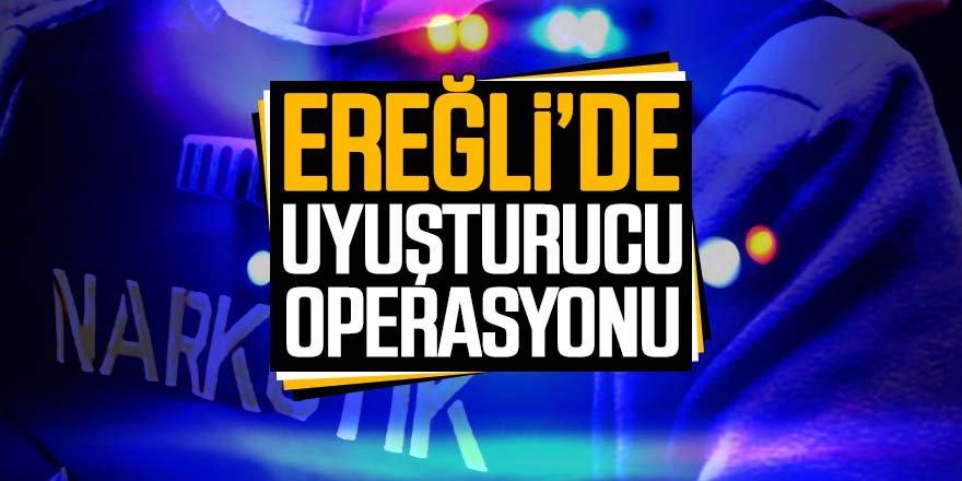 Ereğli'de uyuşturucu operasyonu: 2 tutuklama