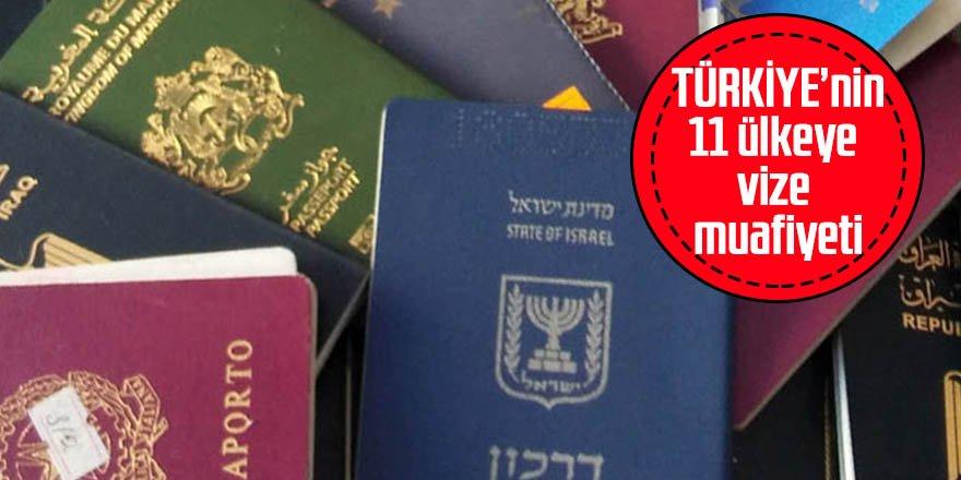 11 ülkeye vize muafiyeti Resmi Gazete'de
