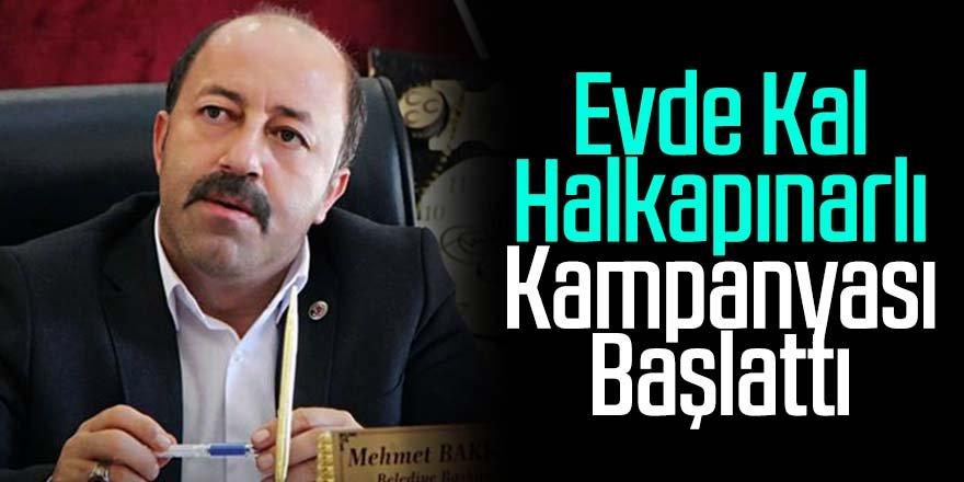 Başkan Bakkal; Evde Kal Halkapınarlı Kampanyası Başlattı
