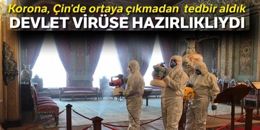 Devlet virüse hazırlıklıydı