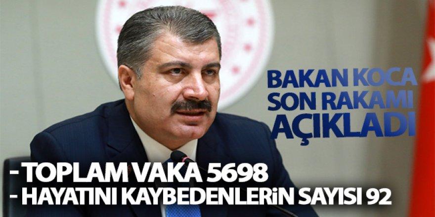 Bakan Fahrettin Koca açıklama yapıyor!