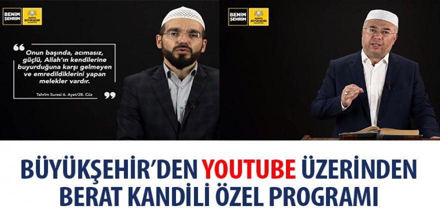 Büyükşehir'den YouTube Üzerinden Berat Kandili Özel Programı