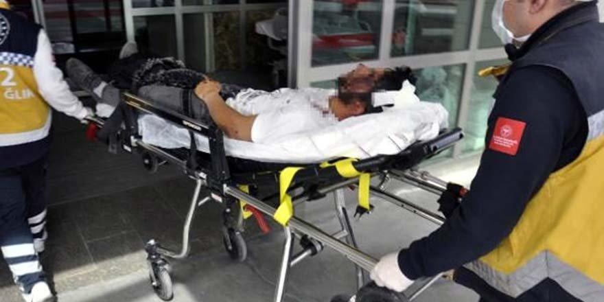 200 lira alacağı için arkadaşını sopayla dövdü