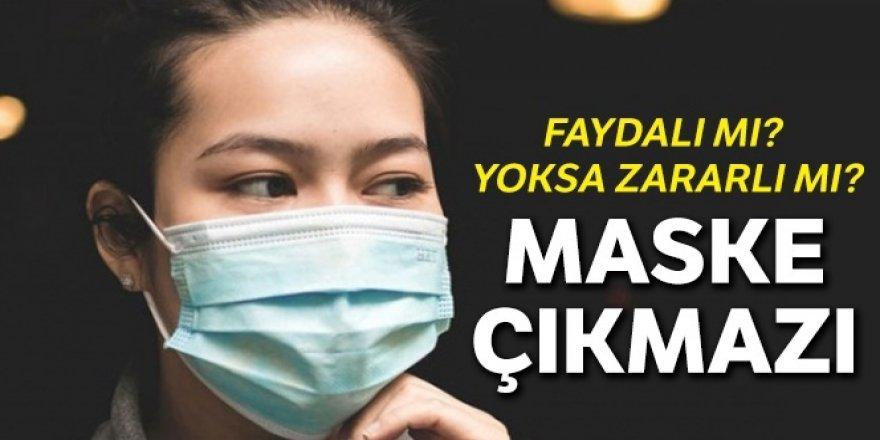 Maske takmak faydalı mı yoksa zararlı mı?