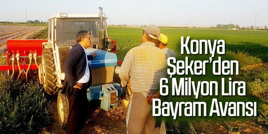 Konya Şeker'den 6 Milyon Lira Bayram Avansı