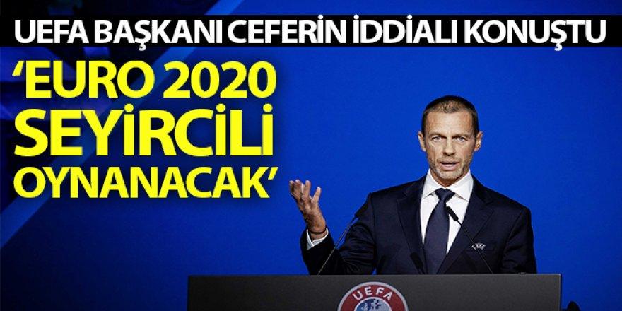 UEFA Başkanı Ceferin iddialı konuştu