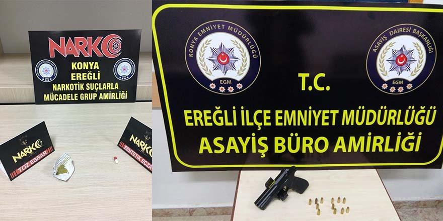 EREĞLİ POLİSİ BAYRAM'DA DURMADI