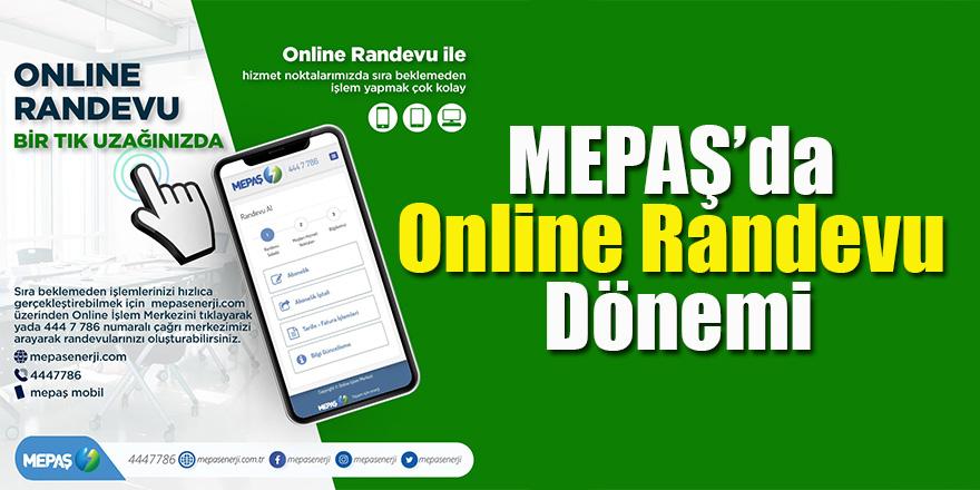 MEPAŞ'da Online Randevu Dönemi