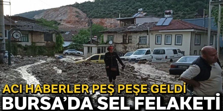 Bursa'daki sel felaketinden acı haberler peş peşe geldi