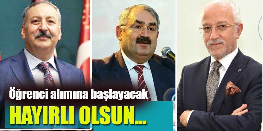 Veterinerlik Fakültesi Ereğli'mize Hayırlı Olsun