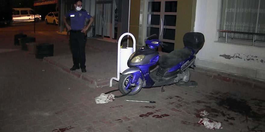 Silahlı kavgada baba ve oğul yaralandı