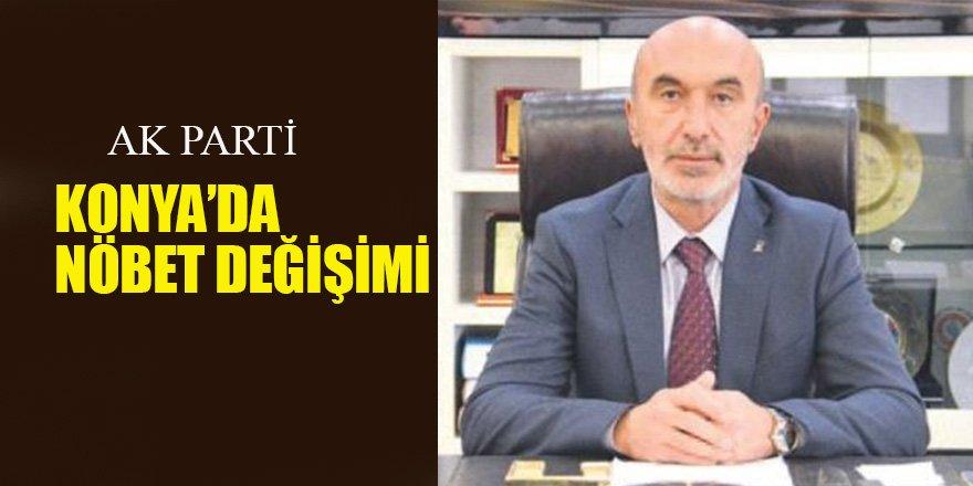 AK Parti Konya'da Nöbet Değişimi
