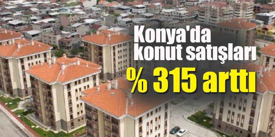 Konya'da Konut satışları arttı