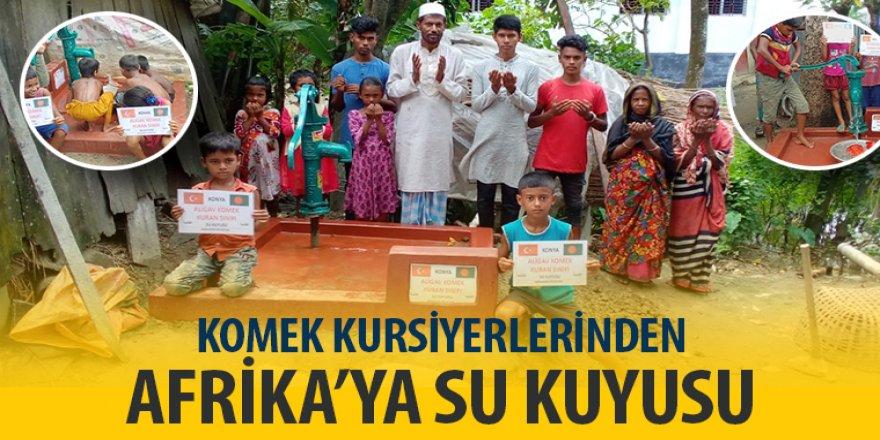 KOMEK Kursiyerlerinden Bangladeş'e Su Kuyusu