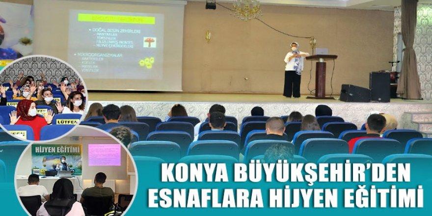 Konya Büyükşehir'den Esnaflara Hijyen Eğitimi