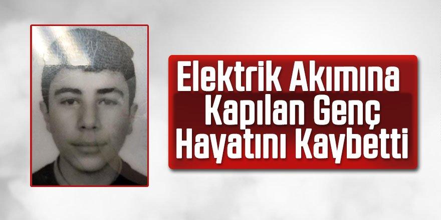Babasının atölyesinde elektrik akımına kapılan genç öldü