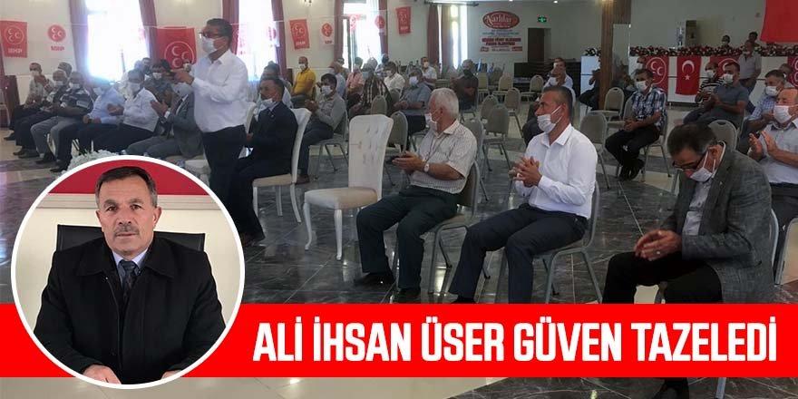 MHP Halkapınar ilçe kongresi yapıldı