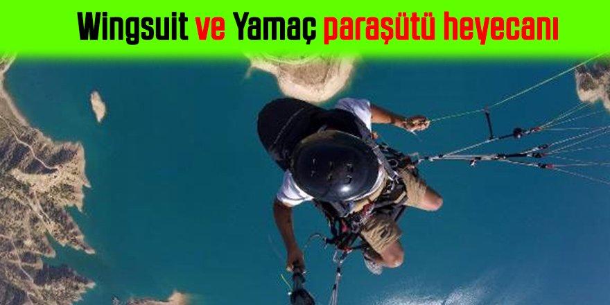Wingsuit ve yamaç paraşütü heyecanı