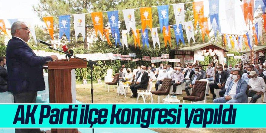AK Parti ilçe kongresi yapıldı