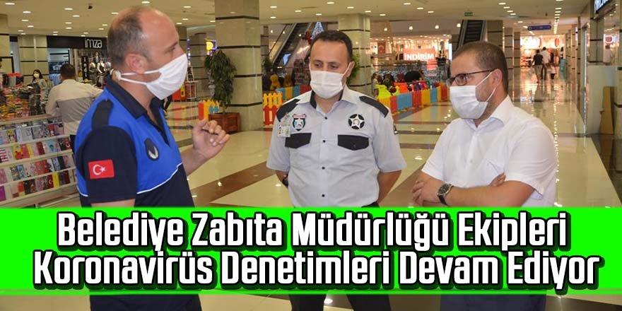 Ereğli Belediyesi Zabıta Müdürlüğü Ekipleri Covid-19 tedbirleri kapsamında vatandaşların sıklıkla hizmet aldığı iş yerleri ve iş merkezlerinde Denetimlerine Devam Ediyor.