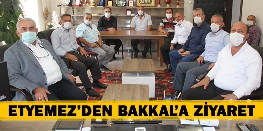 Etyemez'den Başkan Bakkal'a ziyaret