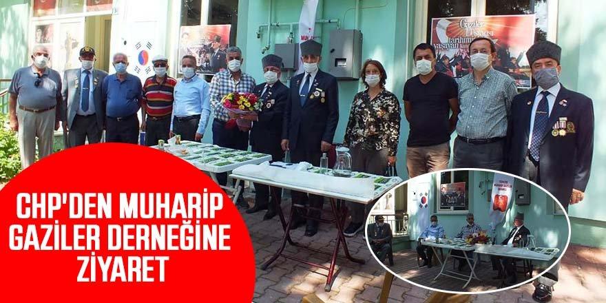 CHP'DEN MUHARİP GAZİLER DERNEĞİNE ZİYARET
