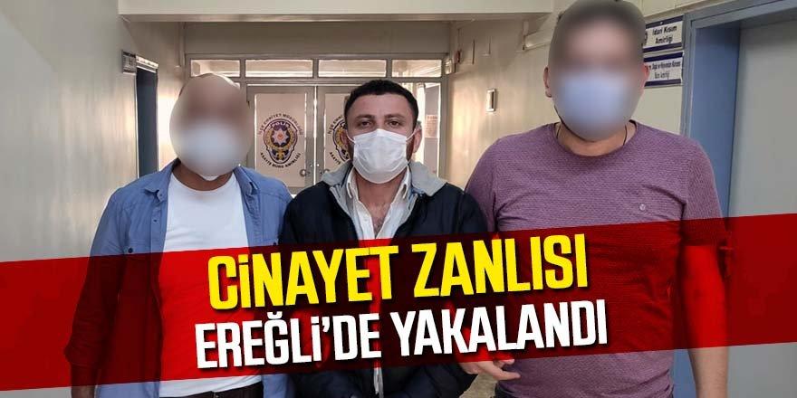 Kepçe operatörünü öldüren, zanlı Ereğli'de yakalandı