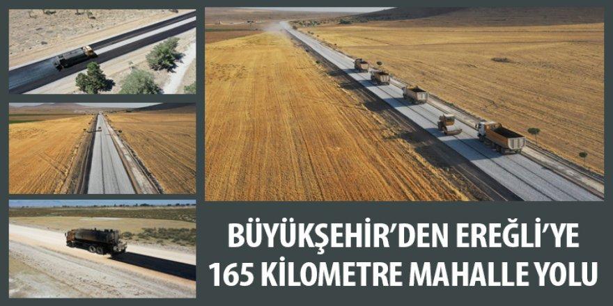 Büyükşehir'den Ereğli'ye 165 Kilometre Mahalle Yolu