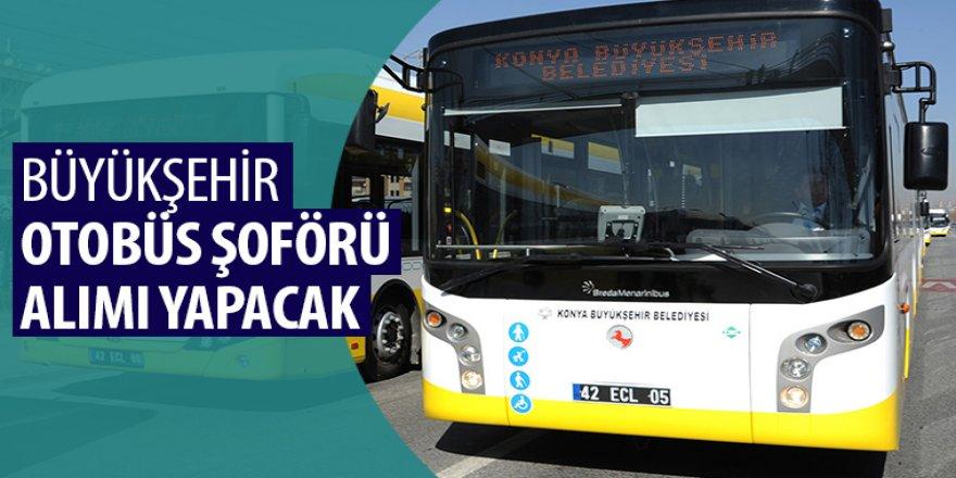 Konya Büyükşehir Otobüs Şoförü Alacak