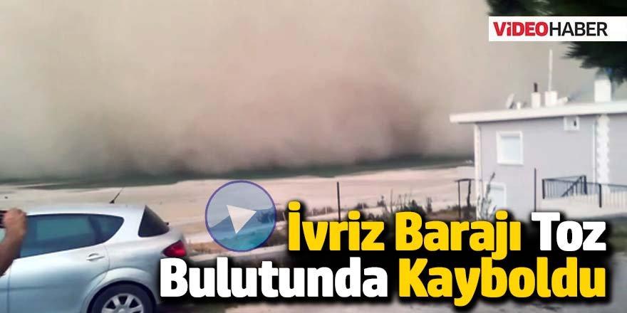 İvriz Barajı Toz Bulutunda Kayboldu!