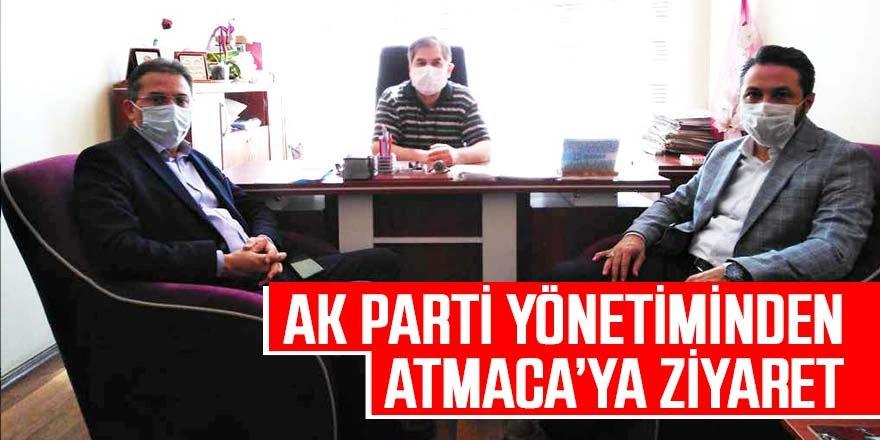 AK PARTİ'DEN KURULUŞLARIMIZA ZİYARET