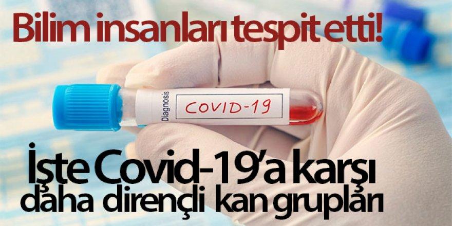 Hangi Kan Grupları Covid-19'a Karşı Daha Dirençli