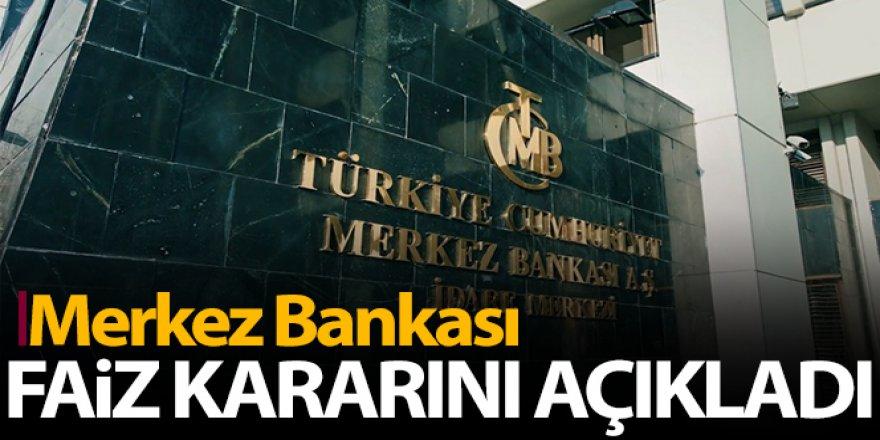 Merkez Bankasın'dan faiz kararı