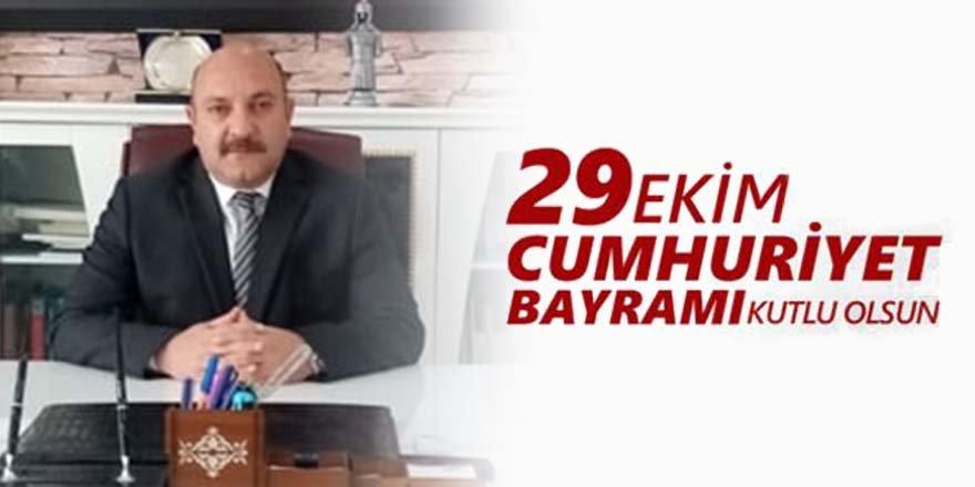 Kaymakam Edip ÇAKICI'nın 29 Ekim Cumhuriyet Bayramı Kutlama Mesajı
