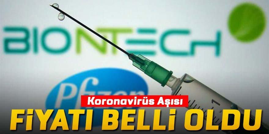 Pfizer/BioNTech aşısının fiyatı