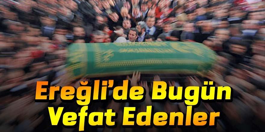20 Kasım Ereğli'de vefat edenler