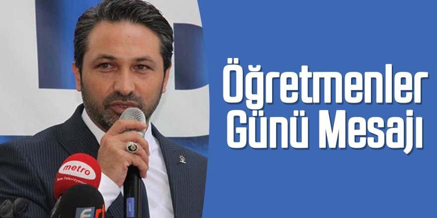 Başkan Dursun'dan Öğretmenler Günü Mesajı